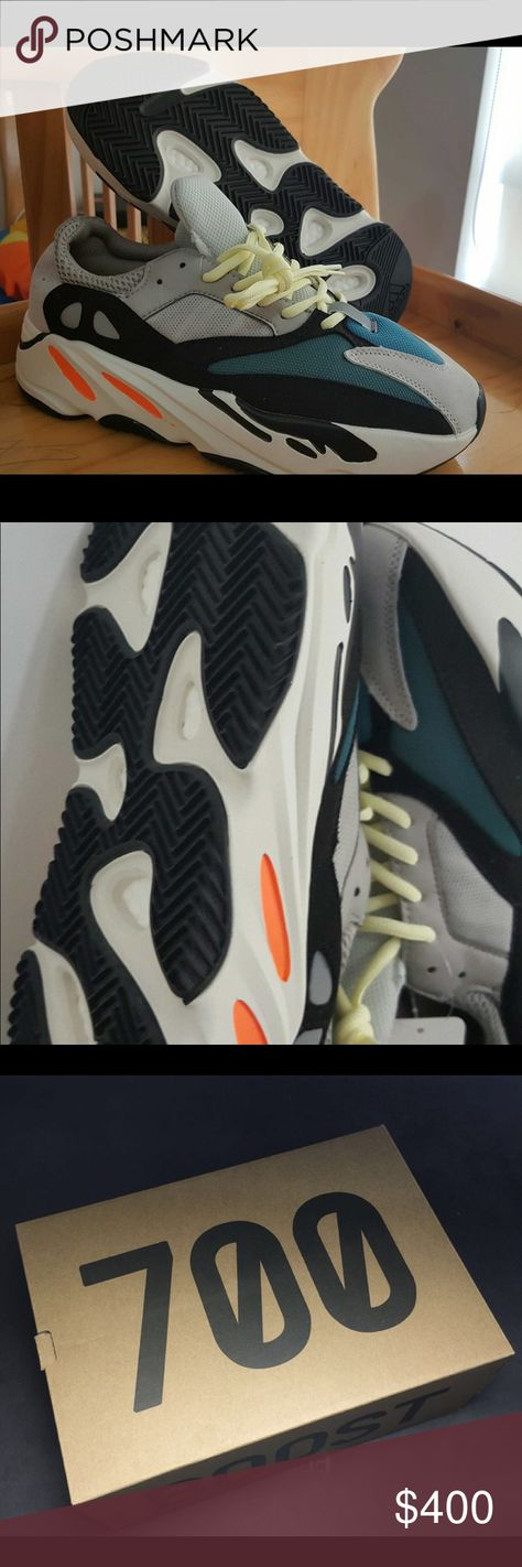 9bd2ca91e6c08 Yeezy wave runner 700 Dead stock new in box. Price negotiable if paid with  pay pal or Venmo because of high seller fees. Got them and really didn t  like the ...