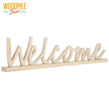 Welcome Wood Decor Wood Crafts Crafts Hobby Lobby
