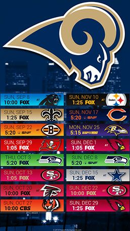 Los Angeles Rams 2019 Mobile City Nfl Schedule Wallpaper Los Angeles Rams Minnesota Vikings Wallpaper Los Angeles