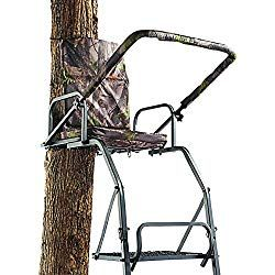 Most Comfortable Ladder Tree Stand For Sale 2019 Reviews And Guide With Images Ladder Tree Stands Hunting Chair Ladder Stands