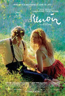 Renoir (2012). Lovely to watch, Renoir is one of the most beautifully shot films I've seen in years. A story of Renoir , his family and his muse, it's as though you've dropped into the south of France in 1915. Formidable.