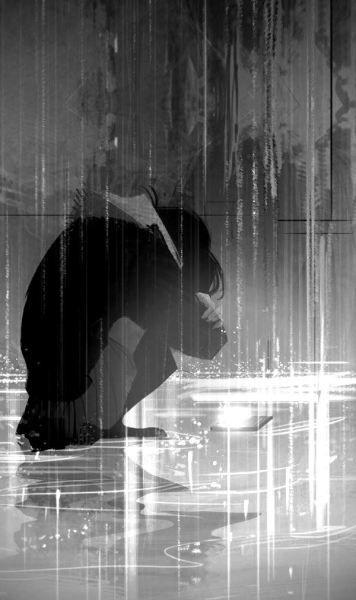 Anime Cry Tumblr Anime Chorando Imagens Escuras Ilustracao De Paisagem