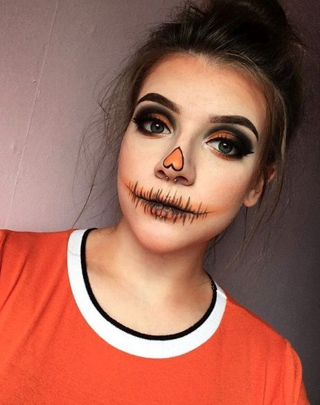 13 Easy Halloween Make,Up Looks You Can Do With Only The