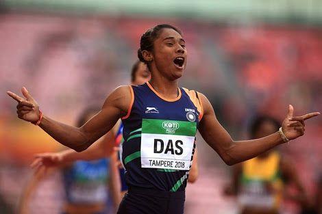 Dhing Express' Hima Das from running barefoot to having her