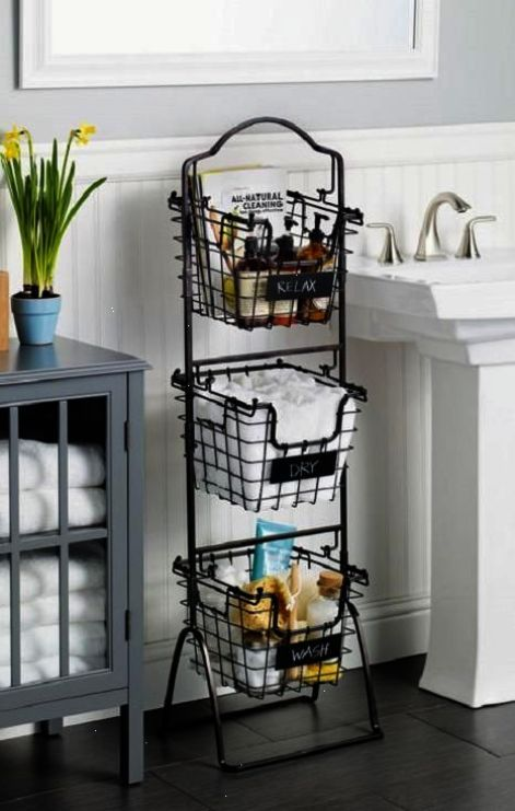 This 3 Tier Market Basket Stand Is The Practical And Elegant Storage Solution That Will Bring Organization To Any Room Of The House Ea