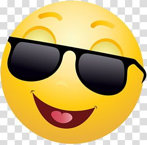 Emoji Emoticon Smiley Sunglasses Faces Transparent Background Png Clipart In 2020 Laughing Emoji Clip Art Crying Emoji