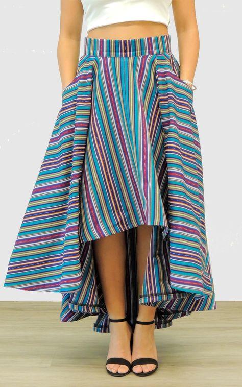 Lucero Voluminous High-Low Skirt