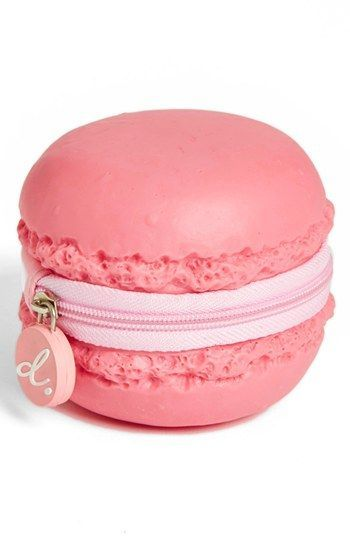 PIQ Products Strawberry Macaron Coin Purse available at - So cute! Things To Buy, Girly Things, Stuff To Buy, My Bags, Purses And Bags, Cheap Purses, Macaron Coin Purse, Cute Coin Purse, Fashion Bags