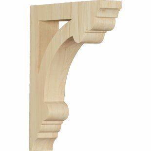 Ekena Millwork Emery 15 3 4 H X 15 3 4 W X 1 1 8 D Panel Moulding Corner Wayfair In 2020 Wood Corbels Corbels Ekena Millwork
