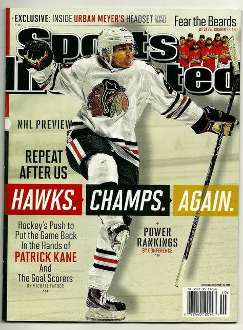 2013 Chicago Blackhawks Stanley Cup SI Sports Illustrated Hockey News Magazine