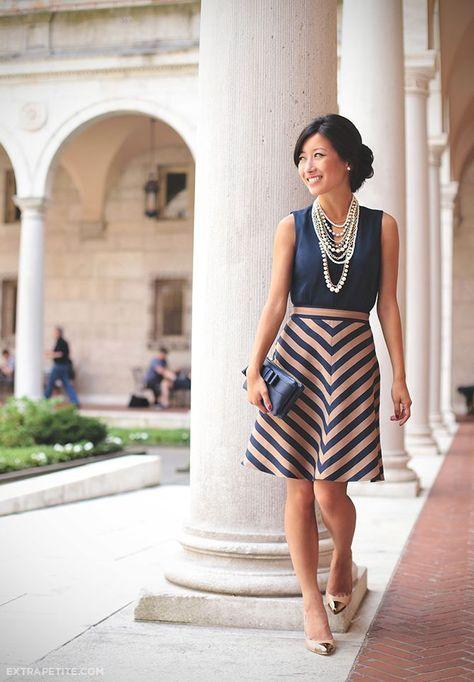 This blog has some nice tips for petite women. Professional attire is heavily features. @Trish Papadakos Papadakos - DAiSYS & dots Roberts Petite Blog