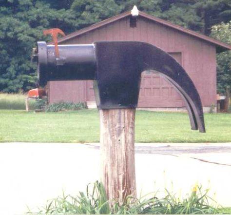 Hammer Time Mailbox