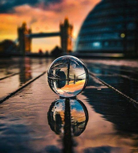 Spherical Crystal Ball Lens - Best photography accessory - Lensball #iphonephotography