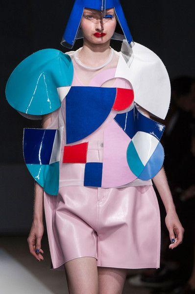 Junya Watanabe at Paris Fashion Week Spring 2015 - Details Runway Photos
