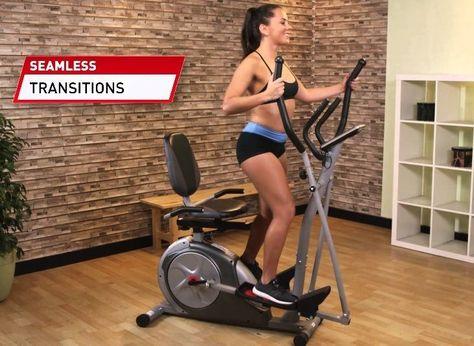 Elliptical Trainer Exercise Bike Recumbent Bicycle Home Gym Fitness Equipment #BodyRider