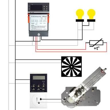 Image Result For Egg Incubator Circuit Diagram Egg Incubator Egg Timer Diagram