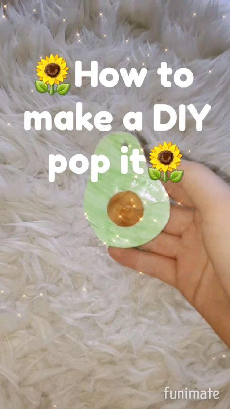 DIY pop it