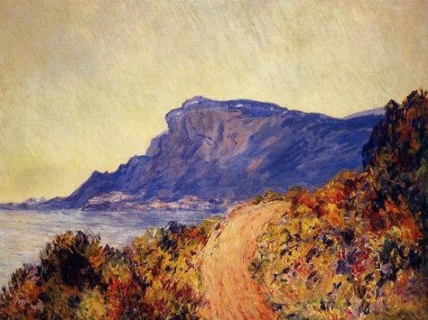 Cape Martin in Menton by Claude Monet Giclee Fine ArtPrint Repro on Canvas