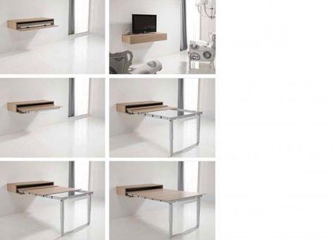 Mesa Extensible para Salón-Comedor | Mobiliario tonos blancos ...
