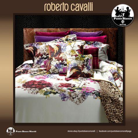Set Piumino E Copripiumino.Dettagli Su Roberto Cavalli Home Floris Piumone Invernale
