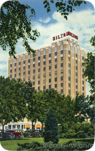 Hotel Hilton Lubbock Texas Downtown Pinterest And