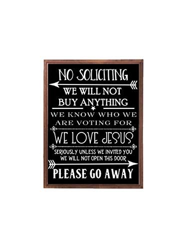 No Soliciting Wood Sign Outdoor Sign Front Door Sign No Soliciting Signs Funny Signs Diy Front Porch