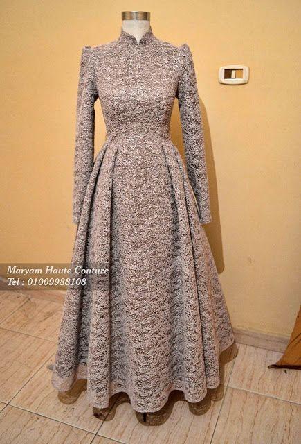 أفضل 10 موديلات لفساتين السواريه الشانيل للمحجبات موضة 2019 Fashion Dresses Formal Stylish Party Dresses Muslim Fashion Dress
