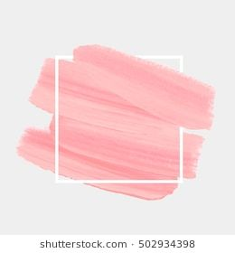 Textured Brush Painted Watercolor Logo Background Vector
