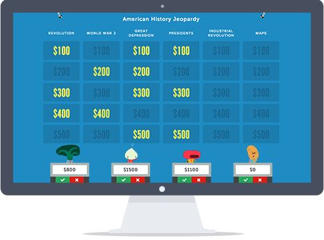 Jeopardy rocks create an online jeopardy game in minutes its create an online jeopardy game in minutes its free easy and loads of fun useful websites pinterest rock teacher and social studies pronofoot35fo Image collections