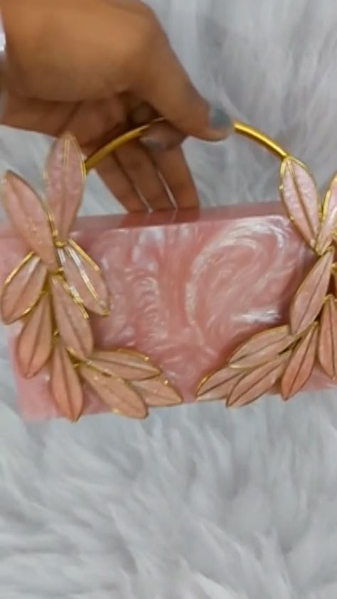 staychic_mumbai on Instagram: Pink resin clutch . . DM for price . . #carryyourstyleeverywhere#staychicmumbai#2k #clutchbag#clutch#clutches#weddingseason #festivevibes…