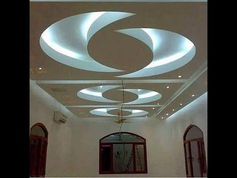 جبس بورد Youtube Ceiling Design Ceiling Design Modern Ceiling Light Design