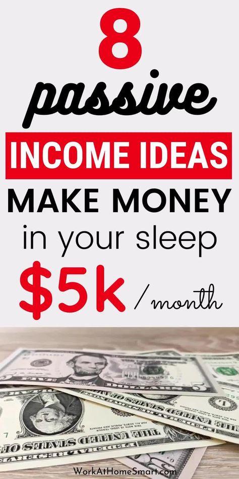 Proven Passive Income Ideas That Can Make You $5000+ Per Month