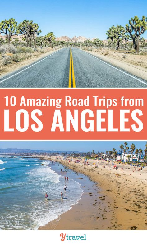 Need tips about road trips from Los Angeles? Check out this list of 10 awesome road trips from LA to fantastic California destinations. Don't visit California before reading these Los Angeles travel tips. #LA #California #LosAngeles #roadtrips #Californiatravel #LosAngelestravel #vacations