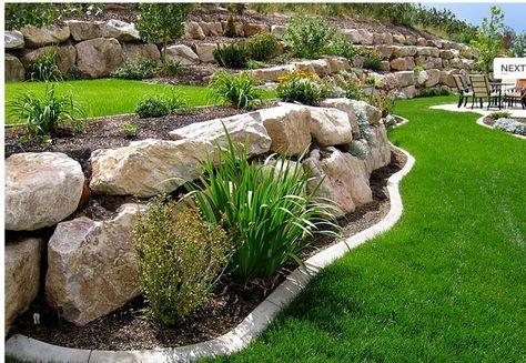 Stones Layout Amenagement Jardin Amenagement Paysager Jardin