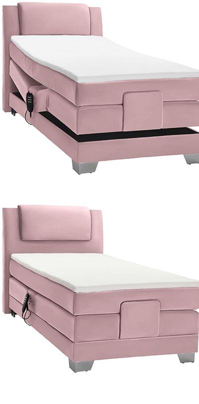 Boxspringbett Rosa Verstellbar Elektrisch Boxspringbett Bett Boxspringbett Elektrisch