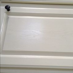 Painting Oak Cabinets White An Amazing Transformation. Grain Filler ...