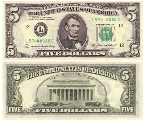100 Dollar Bill Front And Back