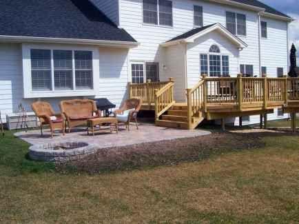 85 Best Backyard Patio Deck Design Ideas Patio Backyard Patio