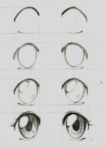 39 New Ideas For Drawing Eyes Anime How To In 2020