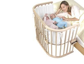 Beistellbett Babybay Maxi Fur Zwillinge Geeignet Beistellbett Babybay Bett