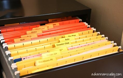 How to Organize Papers: Office Organization