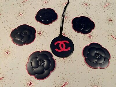 Chanel 2020 Christmas Camellia RARE CHANEL LOGO GIFT CHARM/ STICKERS COLLECTION 2020 limited