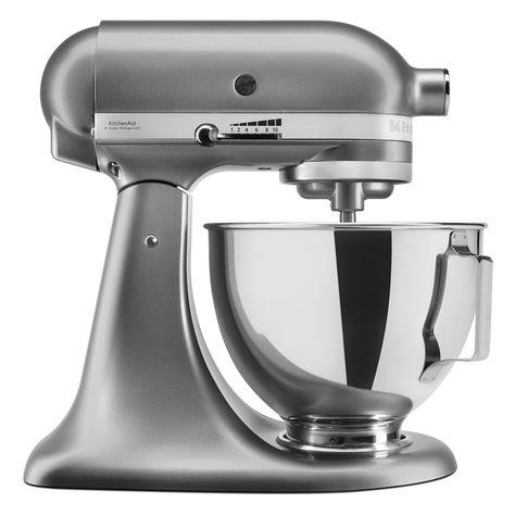 Robot De Cocina Kitchenaid 5ksmpsecu Silver Oscuro En 2020