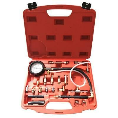 CarBole Car Fuel Injection Pump Injector Tester Test Kit Gasoline Pressure Gauge