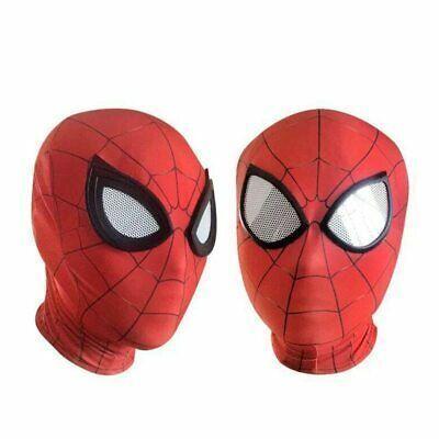 New Spiderman Mask Cosplay Avengers Infinity War Black Spiderman Superhero Mask