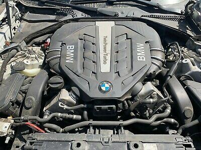 Sponsored Ebay Bmw F10 F12 550i 4 4l N63 Engine Motor Turbocharged W Turbos Oem 59k Low Miles Turbo Bmw Engineering