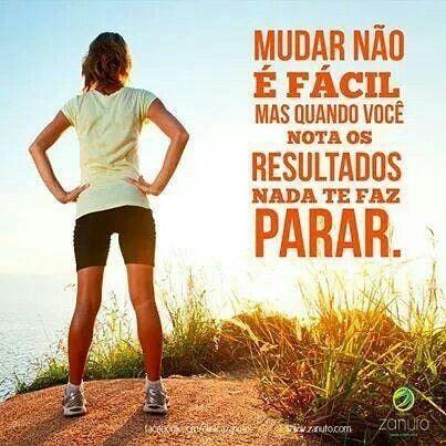 Mudar não é fácil..Mas quando você nota os RESULTADOS, nada te faz parar💪  . . . #emagrece… | Fitness quotes, Fitness motivation pictures, Health  fitness motivation