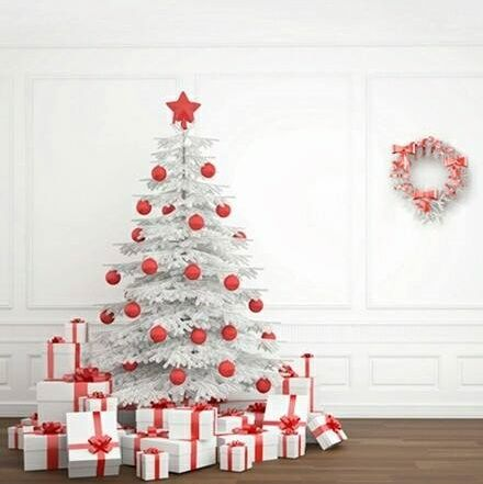 Traditional Red And White Christmas Photo Back Drop Christmas Backdrops Christmas Photo Booth Christmas Photos