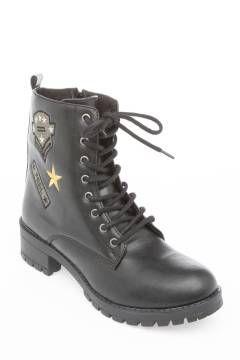 بوت طرح دار Boots Combat Boots Dr Martens Boots