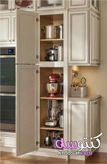 افكار مطابخ تقسيمات دولاب المطبخ من الداخل نصائح عند تصميم المطبخ Kitchen Design Rustic Farmhouse Kitchen New Kitchen Cabinets